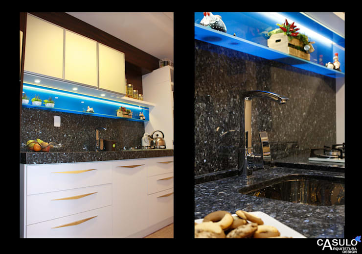 Kitchen by casulo arquitetura design,