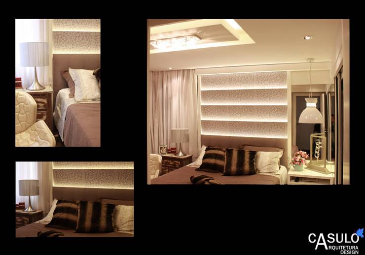 casulo arquitetura design의  침실