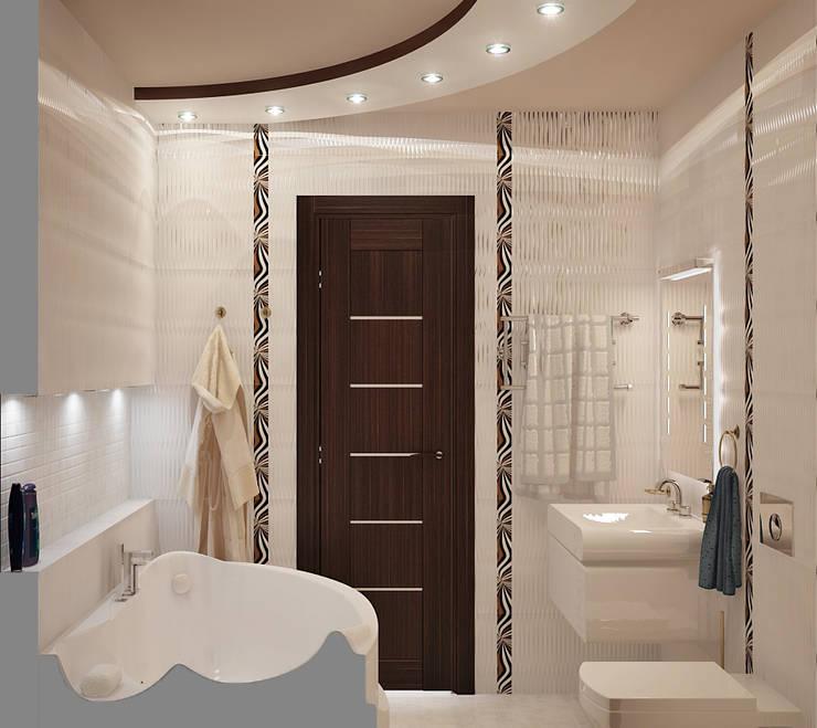 Перезимовать: Ванные комнаты в . Автор – D3 Studio // Студия интерьера,