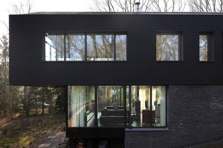 Дома в . Автор – Luc Spits Architecture