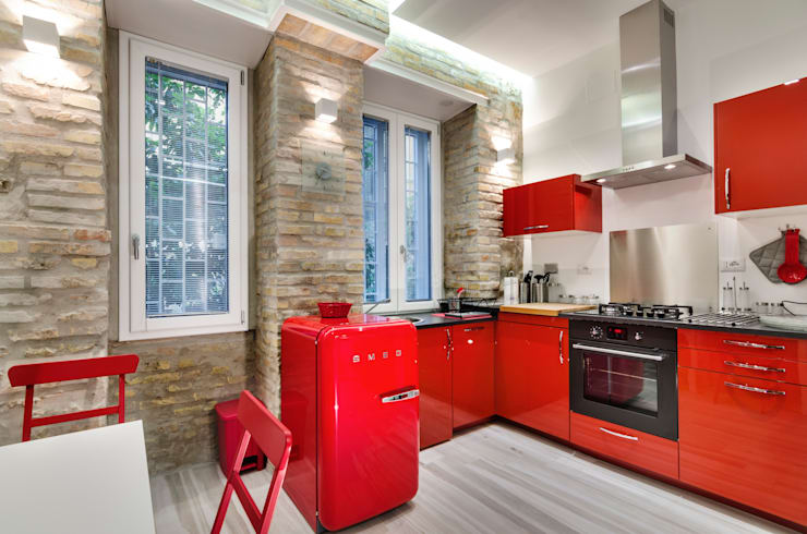 Cocinas de estilo  de architetto raffaele caruso