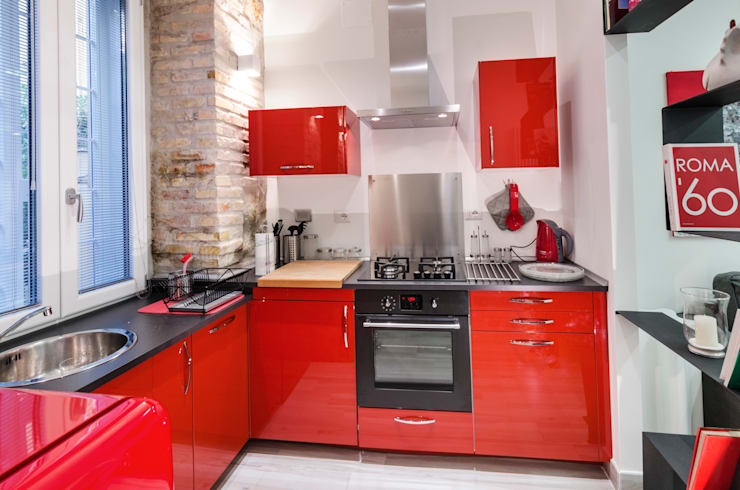 Kitchen by architetto raffaele caruso
