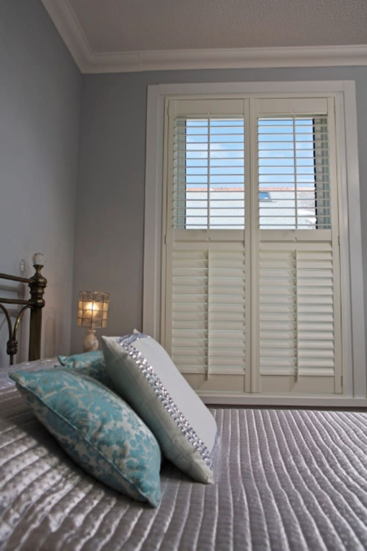 Shutters:  Windows & doors  by Appeal Home Shading