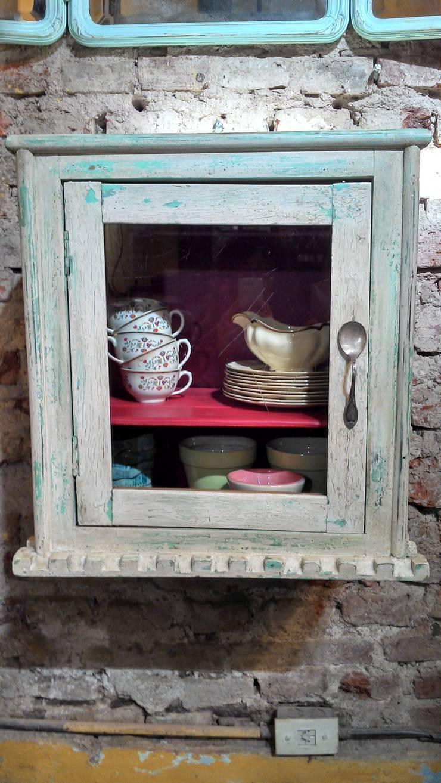 BOTIQUIN ANTIGUO:  de estilo  por Muebles eran los de antes - Buenos Aires,Rústico Madera maciza Multicolor
