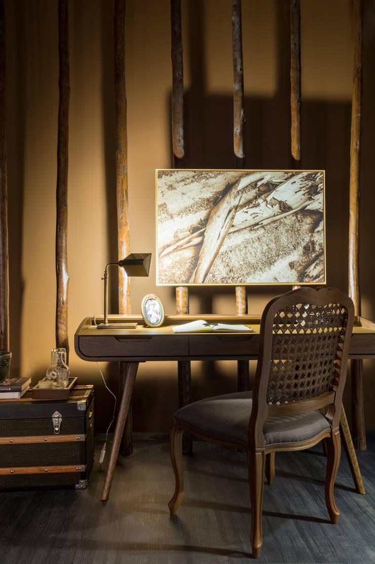 Casa Cor 2015 - Living: Salas de estar  por Melina Mundim | Design de Interiores