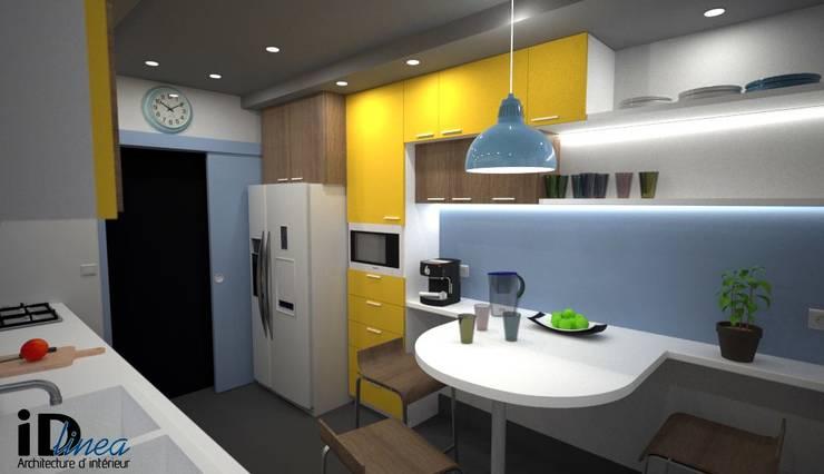 Cocinas de estilo moderno por iD linea