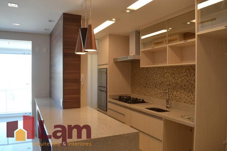 Cozinha - Finalizado: Cozinhas  por LAM Arquitetura   Interiores