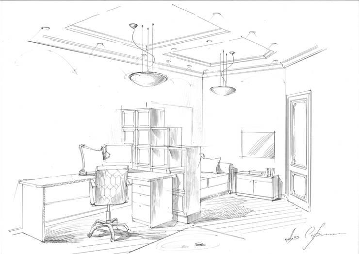 Квартира в ЖК «Сколково».: Детские комнаты в . Автор – Архитектурно-дизайнерская компания Сергея Саргина