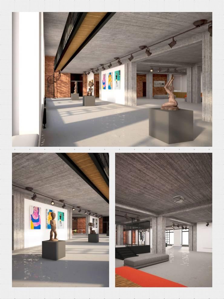 проект - концепция выставочного пространства: Выставочные центры в . Автор – Circus28_interior,