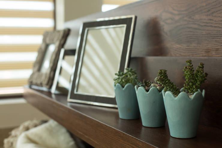 Diseño de mobiliario.: Salas de estilo  por Dovela Interiorismo