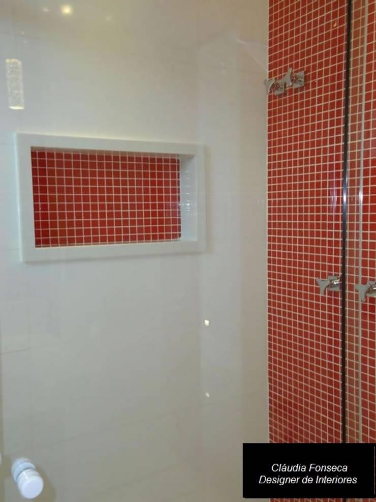 CASA DUPLEX ITABORAÍ II:   por Claudia Fonseca Designer de Interiores,Moderno