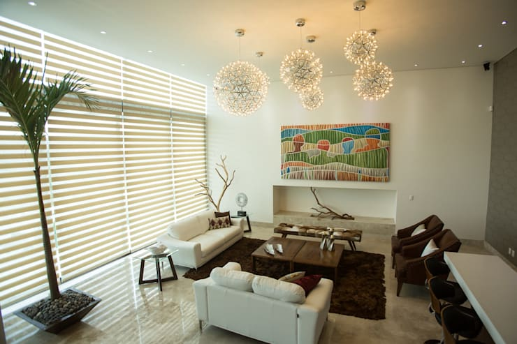 Estancia.: Salas de estilo  por Dovela Interiorismo