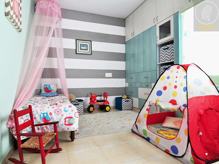 Apartment Remodel:  Nursery/kid's room by Aegam