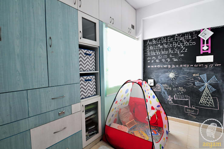 Apartment Remodel: modern Nursery/kid's room by Aegam