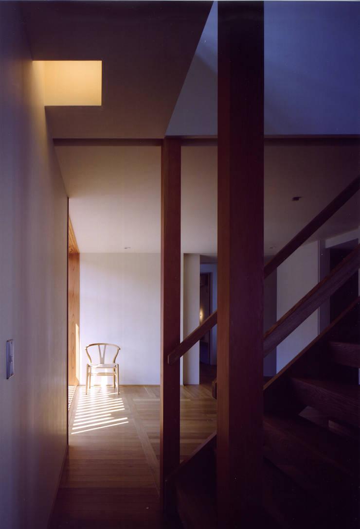 Murs & Sols asiatiques par 辻健二郎建築設計事務所 Asiatique