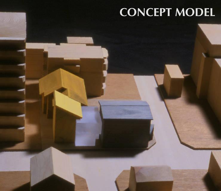 コンセプト模型: 株式会社フォルムス/FORMSが手掛けた現代のです。,モダン
