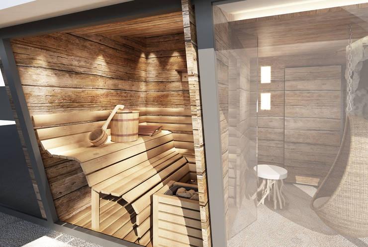 Sauna In Huis : Sauna in huis