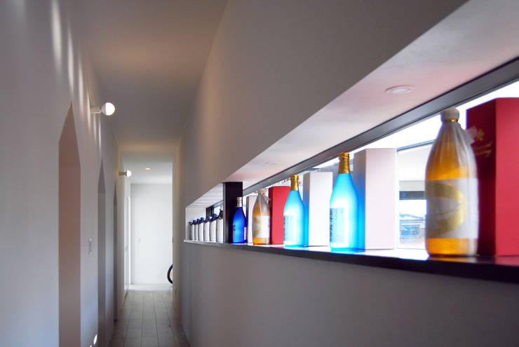 Corridor, hallway by BDA.T / ボーダレスドロー