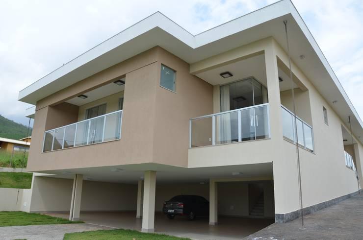 Casas de estilo rural por Solange Figueiredo - ALLS Arquitetura e engenharia