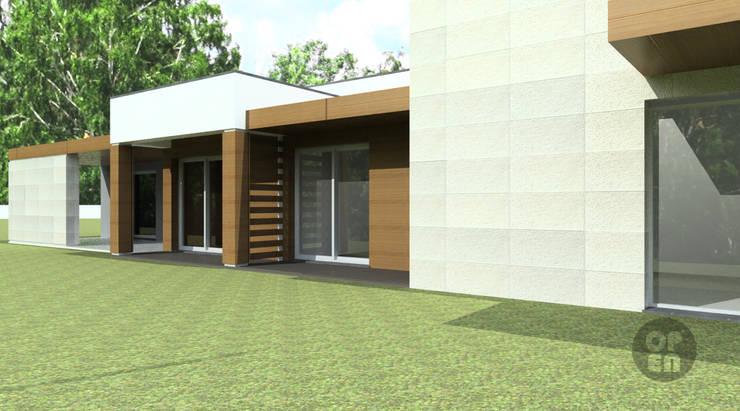 Moradia Unifamiliar – Viseu: Casas  por ATELIER OPEN ® - Arquitetura e Engenharia