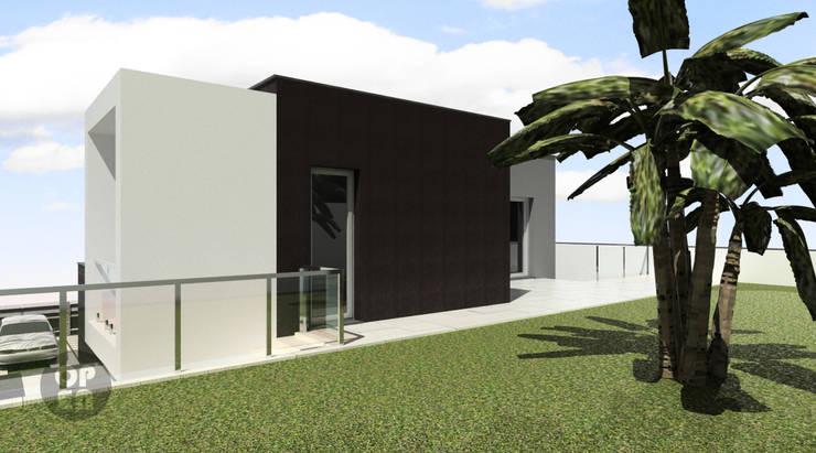 Moradia Unifamiliar – Charneca de Caparica : Casas  por ATELIER OPEN ® - Arquitetura e Engenharia