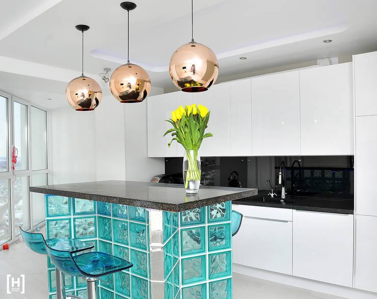 Dapur oleh Hunter design, Minimalis Plastik