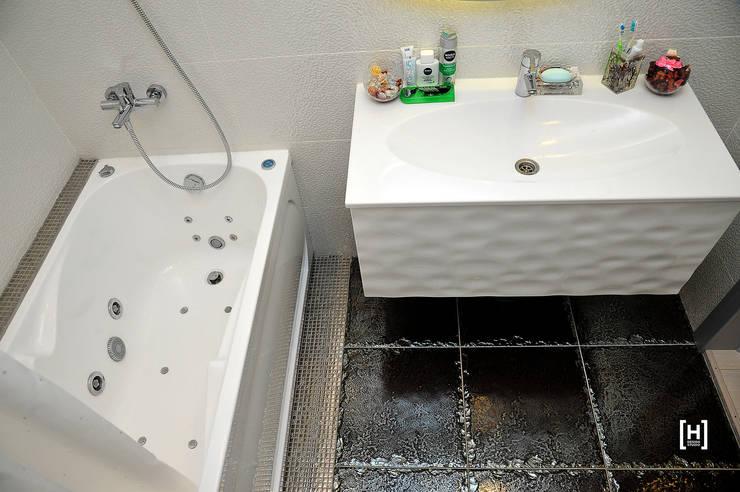 Северное сияние: Ванные комнаты в . Автор – Hunter design