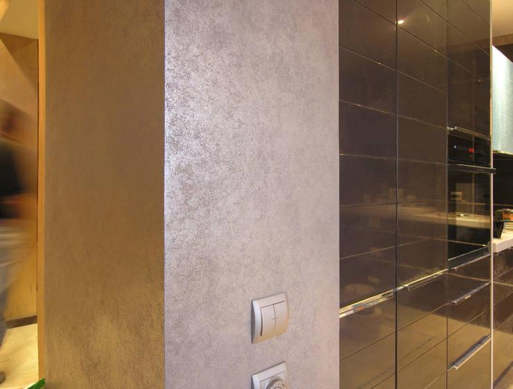Декоративное покрытие для стен: Кухня в . Автор – мастерская22