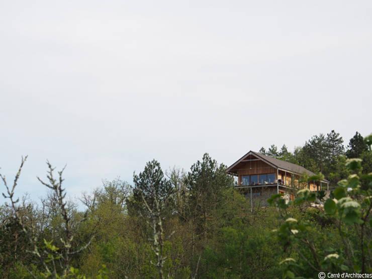 Дома в . Автор – CARRE d'ARCHITECTES