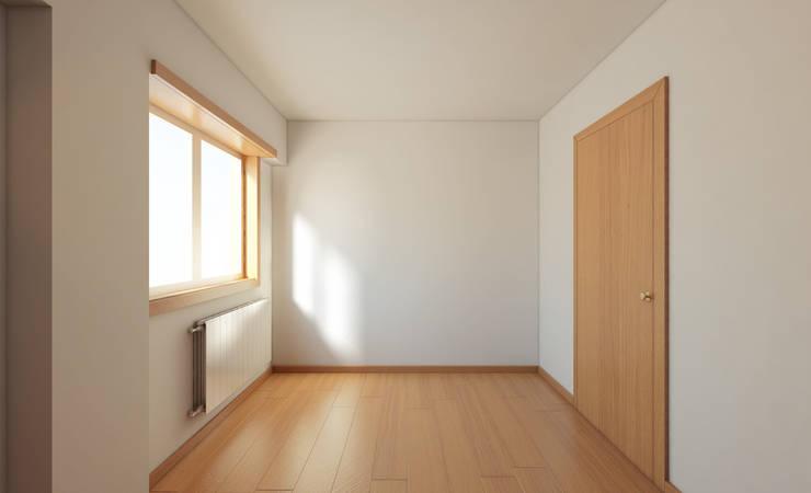 Apartamento Ikea: Quartos  por José Tiago Rosa
