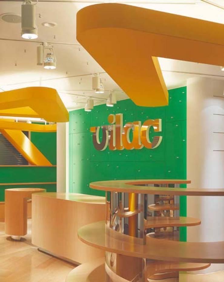 販売カウンター モダンな商業空間 の Guen BERTHEAU-SUZUKI Co.,Ltd. モダン