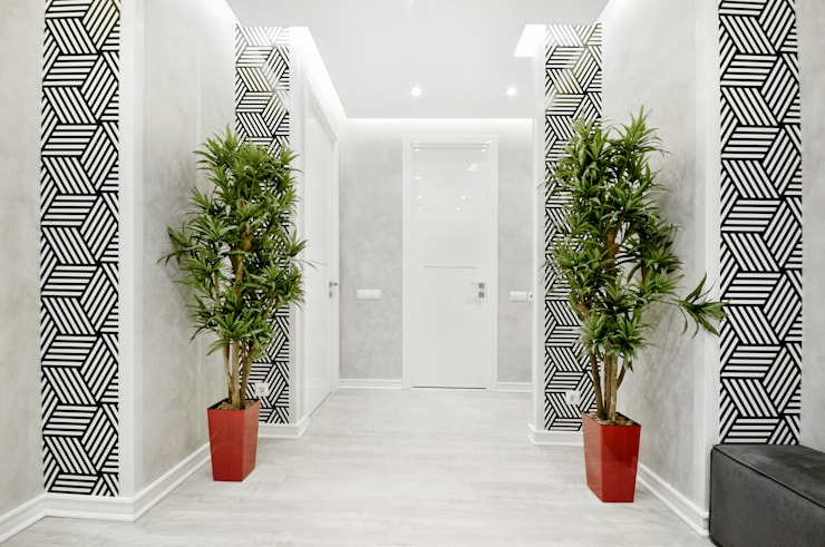 Corridor, hallway & stairs  by homify