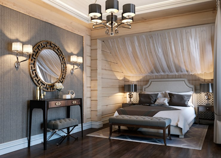 Bedroom by EJ Studio, Eclectic