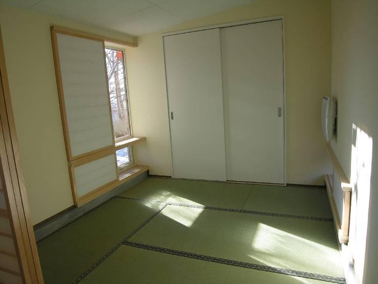 hime-House: さとう建築デザイン室が手掛けた和室です。
