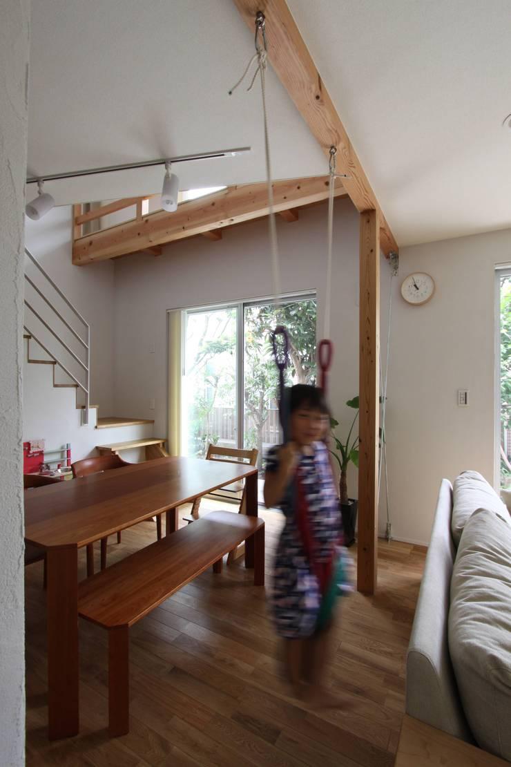 風が通り抜ける家 : アトリエグローカル一級建築士事務所が手掛けたダイニングです。,