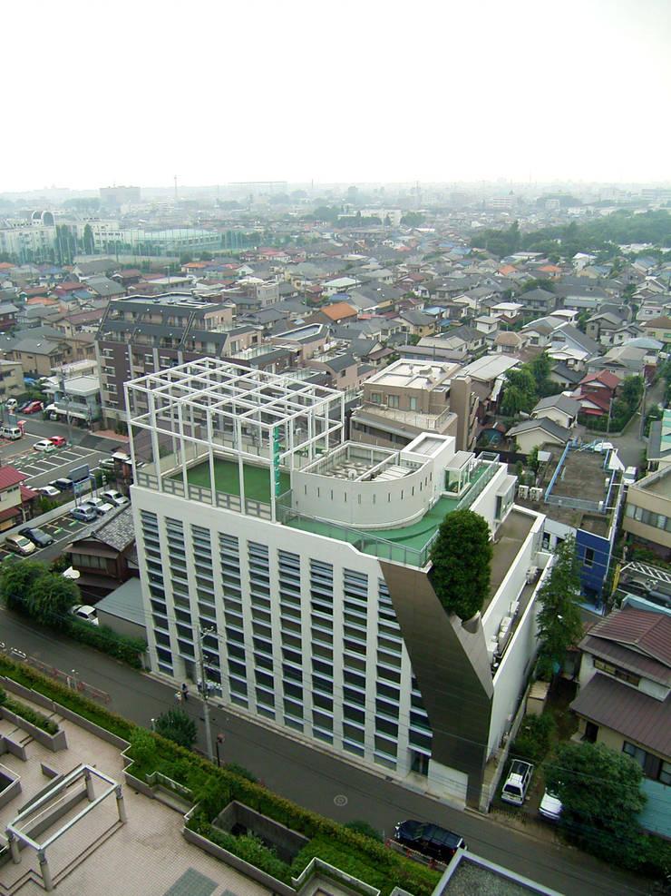 全景: Guen BERTHEAU-SUZUKI  Co.,Ltd.が手掛けたオフィスビルです。,