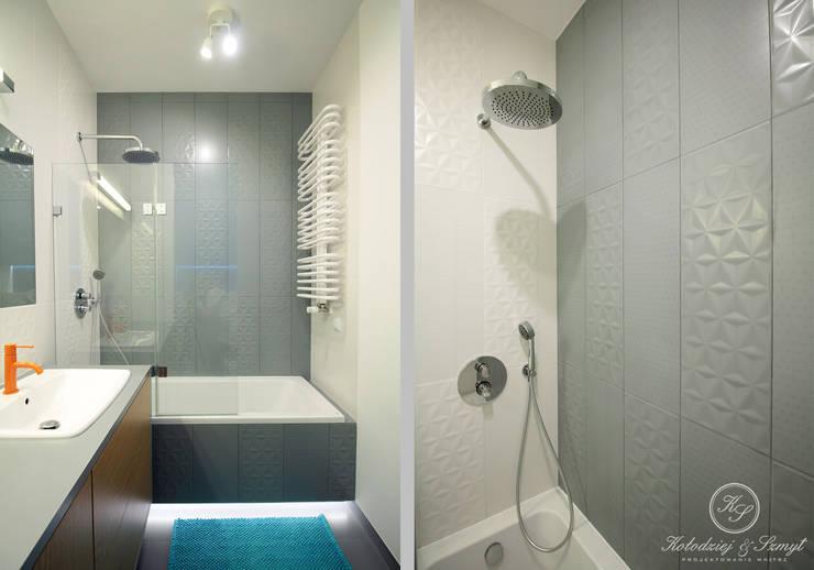 OAK: styl , w kategorii Łazienka zaprojektowany przez Kołodziej & Szmyt Projektowanie wnętrz,Nowoczesny