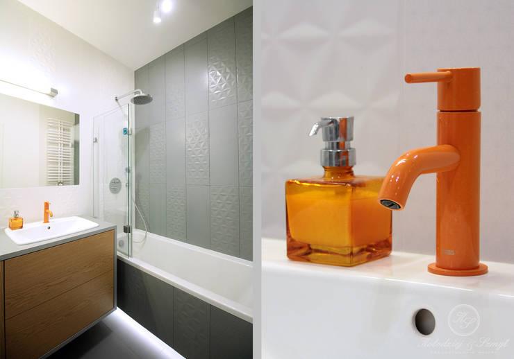 modern Bathroom by Kołodziej & Szmyt Projektowanie wnętrz