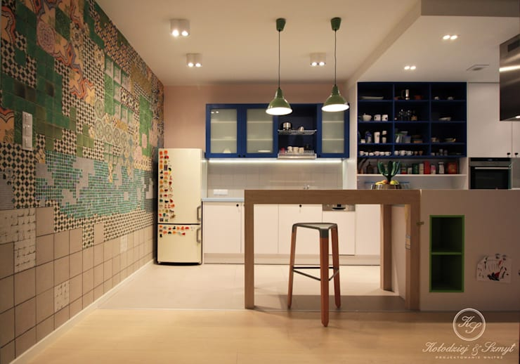 TAIWAN: styl , w kategorii Kuchnia zaprojektowany przez Kołodziej & Szmyt Projektowanie wnętrz