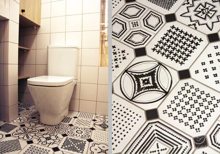 TAIWAN: styl , w kategorii Łazienka zaprojektowany przez Kołodziej & Szmyt Projektowanie wnętrz
