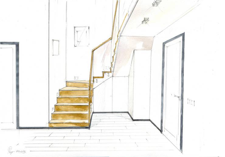 «Коллекционер времени». : Коридор и прихожая в . Автор – Архитектурно-дизайнерская компания Сергея Саргина