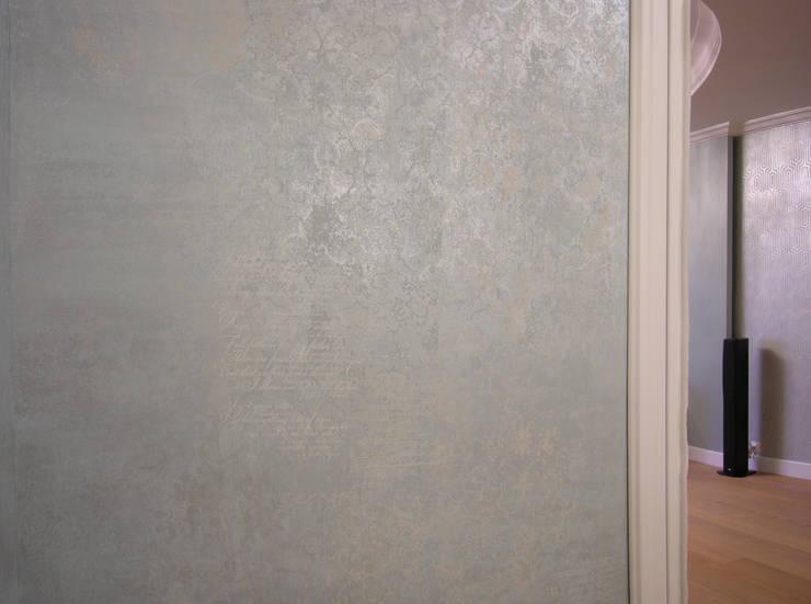 художественно - декоративное покрытие: Прихожая, коридор и лестницы в . Автор – мастерская22