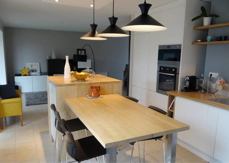 Projekty,  Kuchnia zaprojektowane przez UN AMOUR DE MAISON