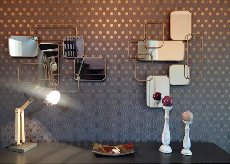 Pasillos y recibidores de estilo  por UN AMOUR DE MAISON
