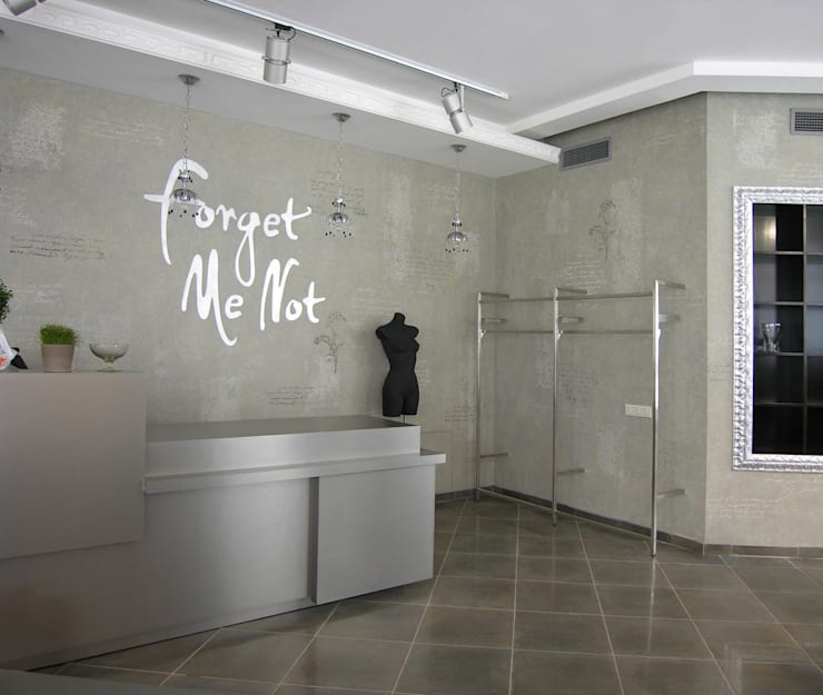 Художественно-декоративное покрытие с изобразительными элементами: Офисные помещения и магазины в . Автор – мастерская22