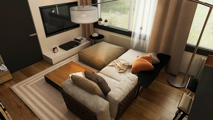 Living room by he.d group