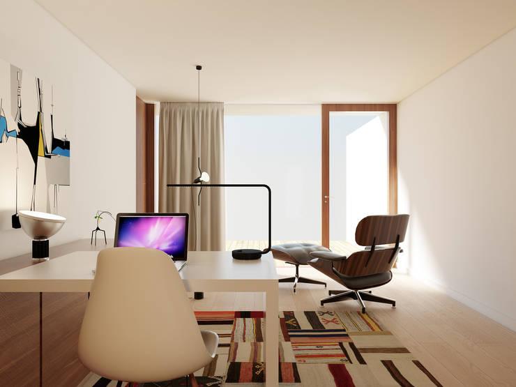 Oficinas de estilo  por José Tiago Rosa, Moderno