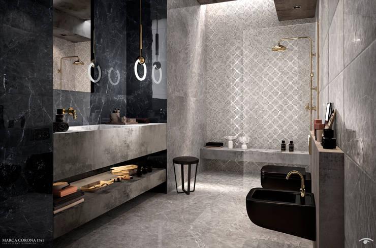 Baños de estilo moderno por info8258