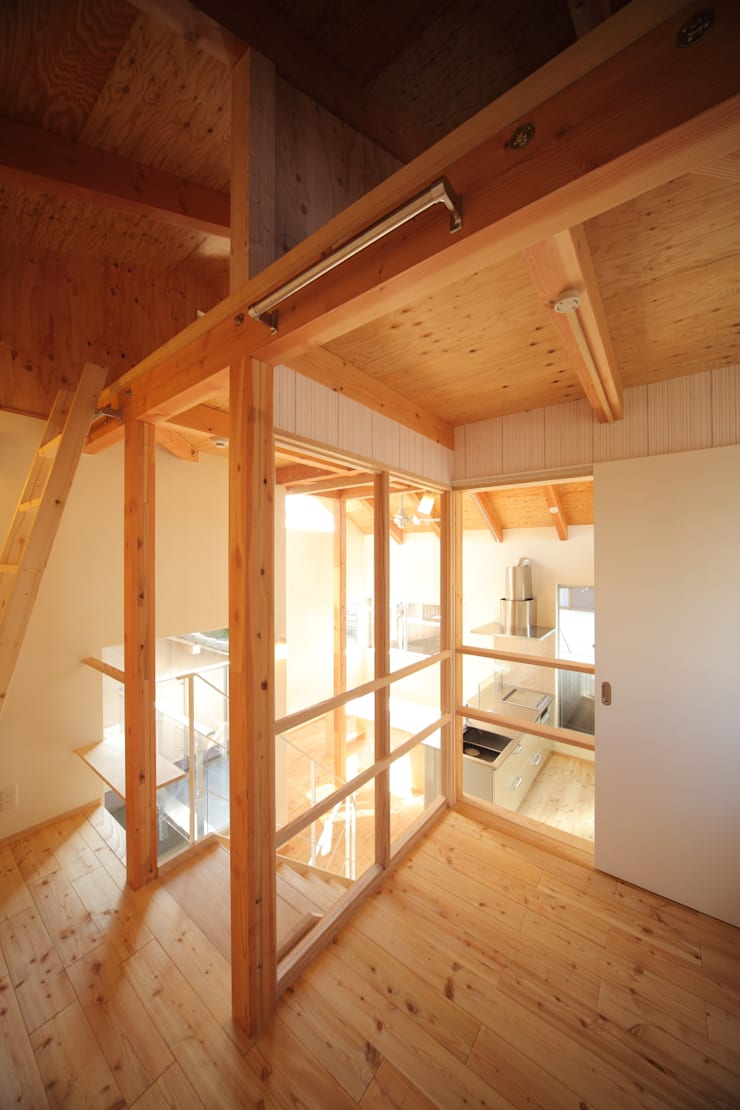 子供室: 建築工房 at easeが手掛けた子供部屋です。