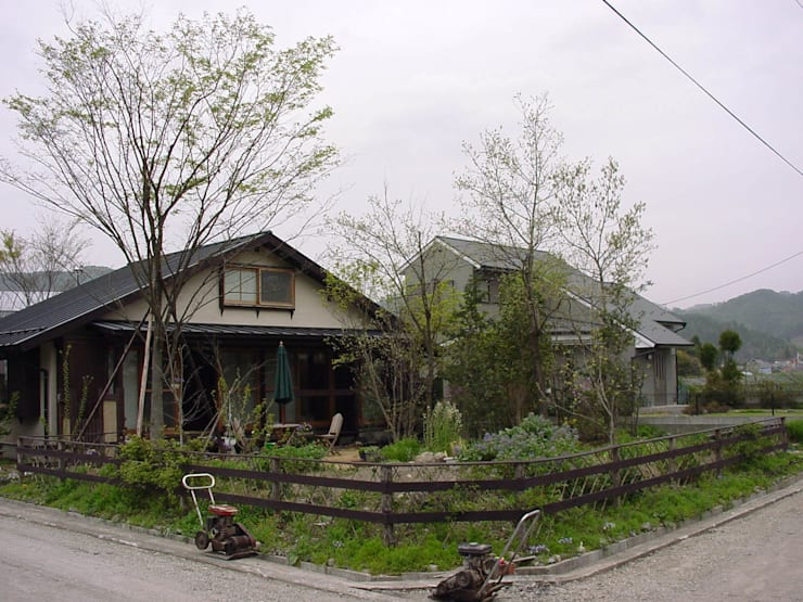 新芽時: 庭 遊庵が手掛けた庭です。,
